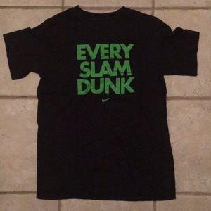 Kids Large Nike Tee Every Slam Dunk